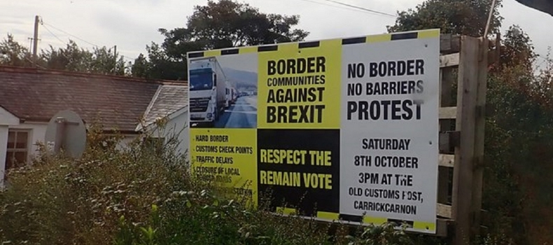A Walk Through Belfast's Troubled Past:  Irish border question