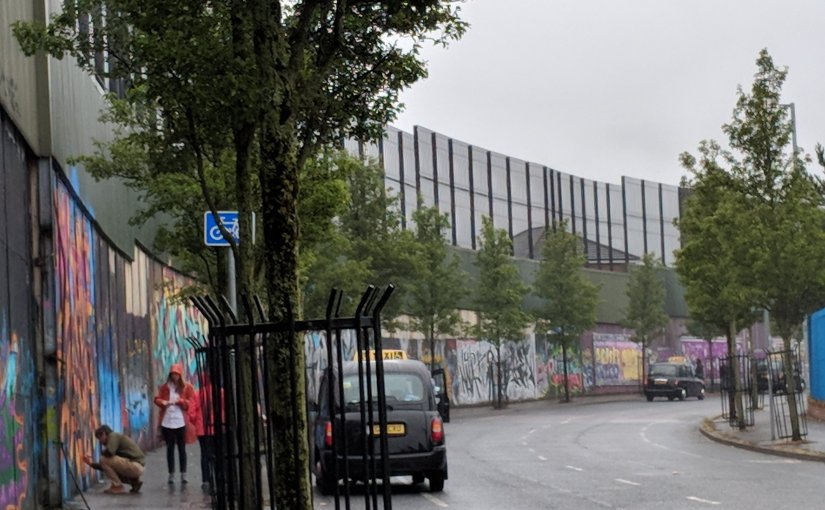 A Walk Through Belfast's Troubled Past: The Peace Walls