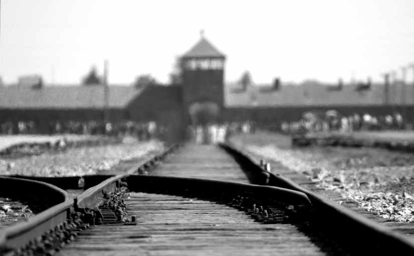 Never Again.  My thoughts on Holocaust Remembrance Day